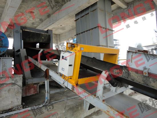 石灰石矿金属探测仪使用现场3